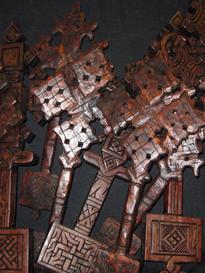 Ethiopian Wooden Cross 14 ethiopian wooden crosses